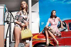 Prada SS 2012 by Steven Meisel  Models: Ymre Stiekema & Katryn Kruger