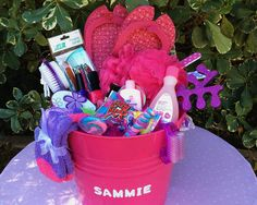 Diy easter baskets gifts for teens basket ideas easter mani pedi party easter basket if your little girl loves to pamper herself our mani pedi party basket is perfect negle Gallery