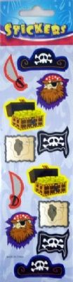 Pirate Stickers at theBIGzoo.com