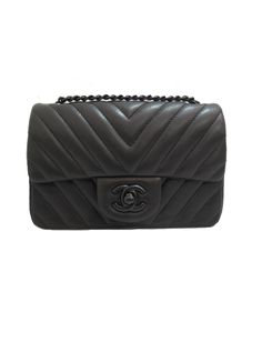 This is on my wish list, hopefully I can find it when I'm ready.....Chanel So Black Chevron Mini Flap Bag