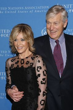 Jane Fonda y Tim Wirth