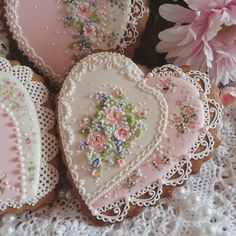 Image may contain: 1 person, food Fancy Cookies, Valentine Cookies, Cute Cookies, Birthday Cookies, Cupcake Cookies, Sugar Cookies, Valentines, Flower Cookies, Heart Cookies