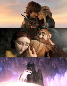 Gotta hand it to them, the Haddocks have good taste in women. Httyd Dragons, Dreamworks Dragons, Disney And Dreamworks, Arte Disney, Disney Art, Hicks Und Astrid, Dragon Movies, Toothless Dragon, Hiccup And Astrid