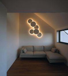 Puck Wall Art wall lamp designed by Jordi Vilardell. http://www.vibia.com/en/lamps/show/id/00091/wall_lamps_puck_wall_art_design_by_jordi_vilardell.html?utm_source=pinterest&utm_medium=organic&utm_campaign=wallarts&utm_content=en&utm_term=