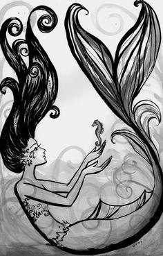 ✯ Mermaid ::•:: Artist Courtney Thomas ✯