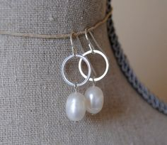 Jewel Earrings by ElisabethAshlie on Etsy, $14.00