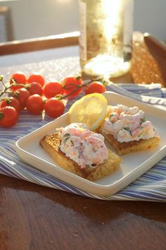 Toast skagen #skagenröra Frisk, Skagen, Lchf, Salads, Salad, Chopped Salads