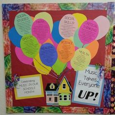 March is Music in our Schools month! Music Advocacy bulletin board