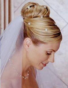 peinados de novia con velo 4