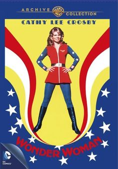 Wonder Woman - 'The Cathy Lee Crosby Pilot' from 1974 Comes to DVD at Last! Cathy Lee Crosby, First Wonder Woman, Wonder Woman Comic, Wonder Women, Gal Gadot, Dc Movies, Movie Tv, Classic Comics, Warner Bros