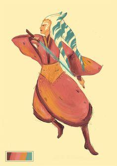 #ahsoka   Artist: UNKNOWN