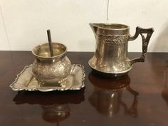 For sale, www. Antique Decor, Other Accessories, Sugar Bowl, Bowl Set, Brass, Antiques, Box, Old Fashioned Decor, Antiquities