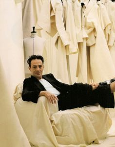 John Galliano/ The documentary Knit Fashion, French Fashion, Ysl, John Charles, Modern Muse, John Galliano, Made Clothing, Fashion Images, Knitting Designs