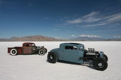 Bonneville Speed Week 2009 DRAGSTERS AUTO USA