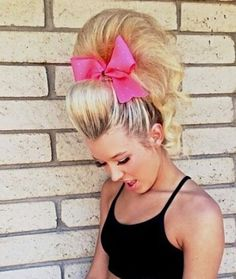 Love cheer hair! Love when my boy let's me do it with his hair :)