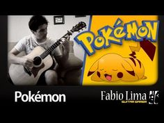 ▶ Pokémon Opening on Acoustic Guitar by GuitarGamer (Fabio Lima) - YouTube