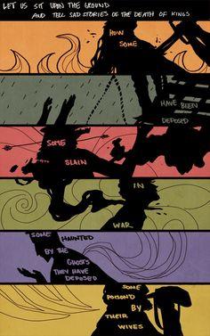 Game of Thrones: Aerys Targaryen, Balon Greyjoy, Robb Stark, Renly Baratheon, Stannis Baratheon, Robert Baratheon