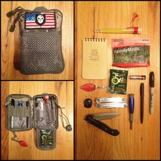 Nice everyday carry kit, cool gear and tools.
