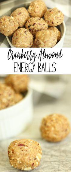Cranberry Almond Ene