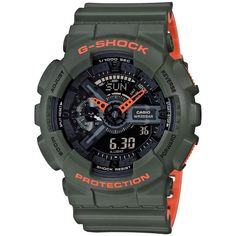 Shop men's and women's digital watches from G-SHOCK. G-SHOCK blends bold style with the most durable digital and analog-digital watches in the industry. Casio G-shock, Casio Watch, Casio G Shock Watches, Sport Watches, Watches For Men, Retro Watches, Dream Watches, Vintage Watches, New G Shock