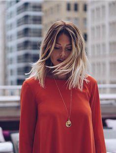 Fab Fashion Fix is fashion, style, beauty and celebrity insider. Caroline Receveur Hair, Hair Inspo, Hair Inspiration, Coiffure Hair, Corte Bob, Lob Haircut, My Hairstyle, Dream Hair, Hair Today