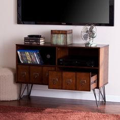 Harper Blvd Barrowman Media Console - 18858482 - Overstock.com Shopping - Great Deals on Harper Blvd Entertainment Centers