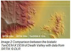 The German radar satellite, TanDEM-X, is in the process of generating a global Digital Elevation Model - WorldDEM - of unprecedented quality, accuracy and coverage. This article explains how this sensor, in conjunction with the TerraSAR-X satellite, will provide a seamless world height model.