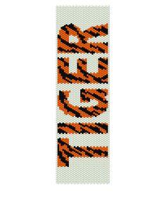 Peyote Bracelet Pattern  Tiger  Buy 2 Patterns get a by KFSDesigns, $6.50