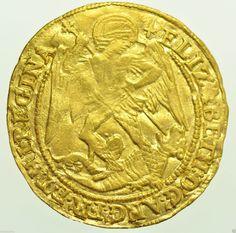 RARE Elizabeth I Angel 1582 mm Sword Fifth Issue British Gold Hammered Coin | eBay