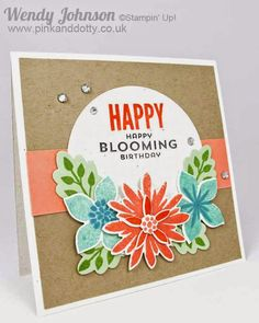 Happy Bloomin' Birthday Card