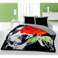 Cloth Fusion Double Bed Winter Blanket (Black/Red, 90X90 Inches) Winter Blankets, Double Beds, Red, Furniture, Black, Home Decor, Full Beds, Black People, Interior Design