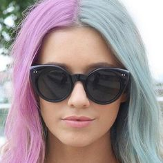 Is Split Hair the Latest Color Trend?