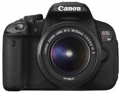 Canon Digital single-lens reflex camera EOS Kiss X6i EF-S18-55 IS II Lens Kit