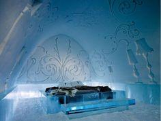ice bedroom, how sweet