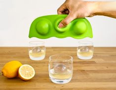 Make Giant Ice Balls With This Peas in a Pod Inspired Ice Mold   DROOL'D