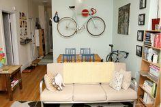 Bike incorporada à decoração - Bbel