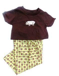 Baby Boys  pants and T shirt 24 months green by SouthernSister2, $30.00