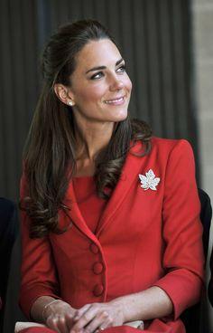 Red on Brunettes = lovely.