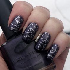 "stamping nail art with Moyra plate ""Primavera"""