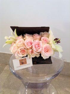 Pink romance #flowerarrangement