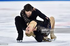 Zachary Donahue and Madison Hubbell skate during their short dance... News Photo | Getty Images