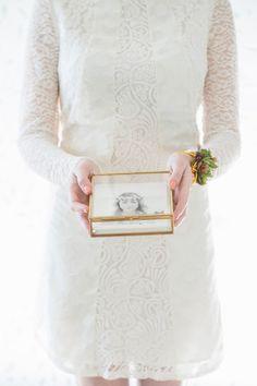 Antique Gold // La Rousse Glass Box