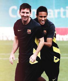 Neymar Jr. El Príncipe & Lio Messi El Rey. | FC Barcelona cracks.