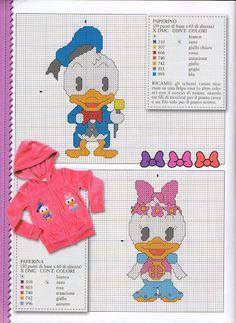 Cutie's - Donald & Daisy