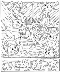 45 Engaging Hidden Pictures | KittyBabyLove.com Hidden Picture Games, Hidden Picture Puzzles, Free Printable Christmas Worksheets, Free Printable Coloring Pages, Hidden Pictures Printables, Face Illusions, Photography Settings, English Worksheets For Kids, Hidden Objects