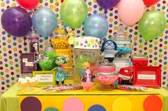 Inside Out Birthday Party Ideas | Photo 10 of 46 | Catch My Party