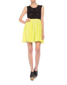 Chartreuse Dress