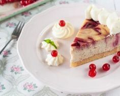 Cheesecake minceur marbré aux groseilles : http://www.fourchette-et-bikini.fr/recettes/recettes-minceur/cheesecake-minceur-marbre-aux-groseilles.html