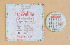 Invitación 15 Años floral 2 Floral Invitation, Wedding Invitation Cards, Invitation Design, Birthday Invitations, Wedding Cards, Invite, Quinceanera Invitations, Vintage Invitations, Ideas Para Fiestas