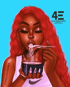 The Black Outcasts Of The Afropunk Movement Black Love Art, Black Girl Art, Black Girls Rock, Black Girl Magic, Black Art Painting, Black Artwork, Mode Hipster, Drawings Of Black Girls, Black Girl Cartoon